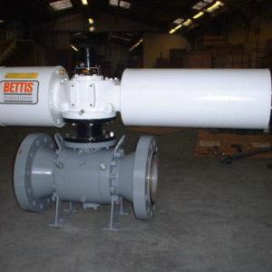 Pneumatic actuated valves