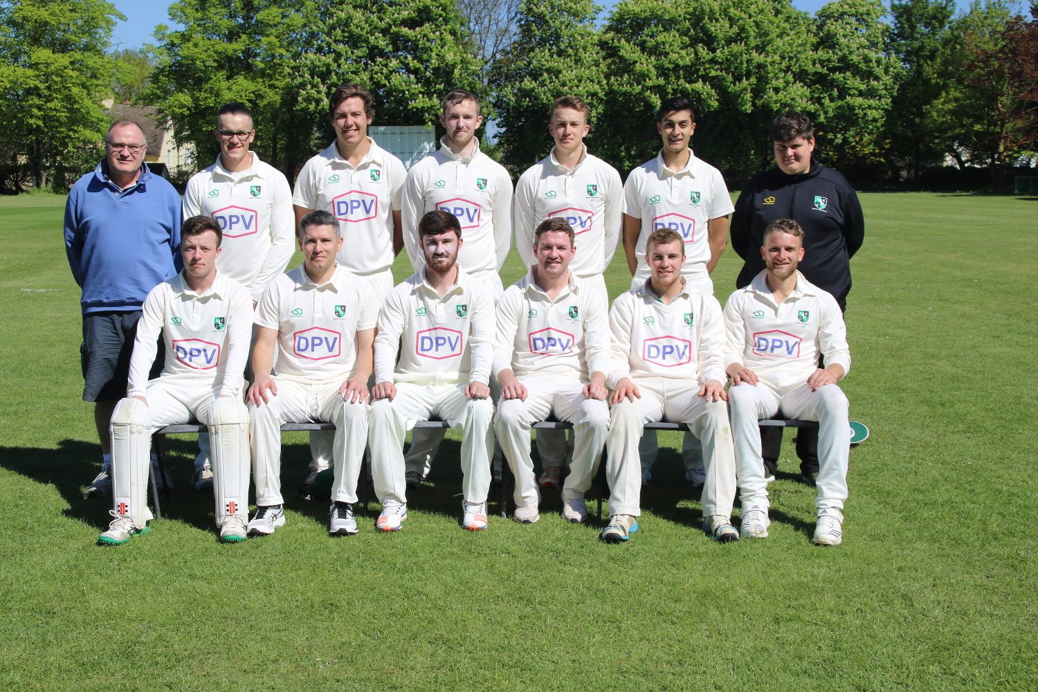 Gary Summerskill and cricket team